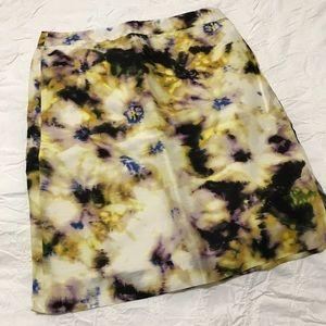 J.Crew abstract pencil skirt